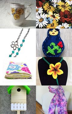 Fab Florals by Nancy on Etsy--Pinned with TreasuryPin.com