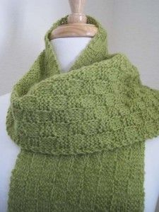 #16 Basketweave Pocket Scarf