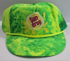 1a805e9b Sun drop tie dye is a really cool style. 100% nylon with an adjustable