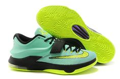 finest selection dccdd bd2d1 ... spain kevin durant kd 7 sneakers nike brand jade green black and volt  colorway 7fb76 03c5e