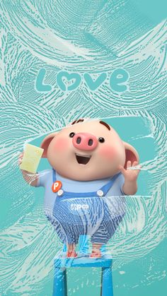 Pig Wallpaper, Funny Phone Wallpaper, Cartoon Wallpaper, This Little Piggy, Little Pigs, Kawaii Pig, Cute Piglets, Emoji Images, Pig Drawing