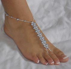 Weave Barefoot Sandals. i want to wear these on my wedding day<3