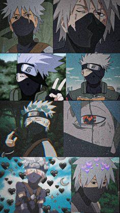 Naruto Wallpaper Iphone, Anime Backgrounds Wallpapers, Wallpapers Naruto, Cute Anime Wallpaper, Animes Wallpapers, Kakashi Sharingan, Kakashi Sensei, Naruto Sasuke Sakura, Naruto Cute