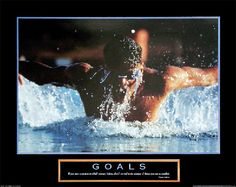 Goals: Swimmer Anon PE101739  Call for special pricing Paper: 22 x 28  Retail $14.00
