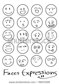 set of doodled cartoon faces in a variety of expressions - bullet journal - Karikatur Area Cartoon Faces Expressions, Funny Cartoon Faces, Cartoon Head, Doodle Cartoon, Funny Cartoons, Cartoon Drawings, Female Cartoon, Girl Cartoon, Doodle Drawings
