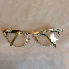 Vintage cat eye glasses. These are actually prescription, but fun to wear for effect! Accessories Glasses