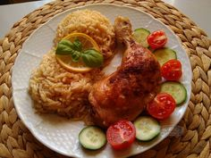 Recepty   Stehýnka pečená v rýži Grains, Meat, Chicken, Food, Essen, Meals, Seeds, Yemek, Eten