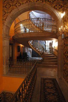 Atractivos turísticos de México: Hotel - Museo Palacio de San Agustín. Ubicación: Ciudad de San Luis , San Luis Potosí.