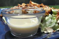 Applebee's Oriental Dressing.  Use on salad of crispy chicken, oriental noodles, cheese, lettuce.
