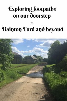 We explored footsteps on our doorstep recently and walked to Bainton Ford an beyond #bicester #familywalks #oxfordshire Days Out For Couples, Family Days Out, Duck Pond, Walking Routes, The Way Home, Back Gardens, I Work Out, Outdoor Fun, Travel Inspiration