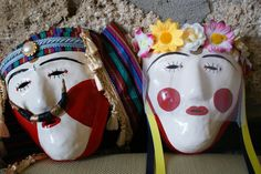 Greek Carnival Masks from Naoussa-Greece