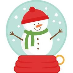 christmas snow globes snowglobes clipart christmas clipart set santa rh pinterest com winter snow globe clipart christmas snow globe clipart free