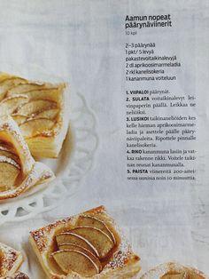 Päärynäviinerit Bread, Food, Brot, Essen, Baking, Meals, Breads, Buns, Yemek