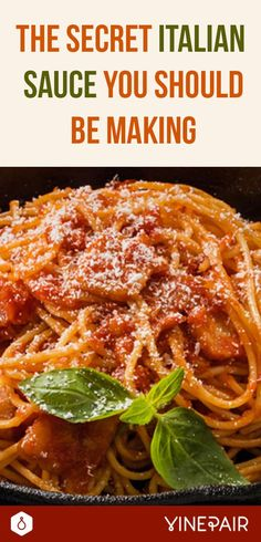 The Secret Italian Sauce You Should Be Making is part of food-recipes - Sugo all'matriciana is a staple of Roman cooking that originated in a historic hilltop town called Amatrice Learn to cook this delicious dish Pasta Sauce Recipes, Beef Recipes, Cooking Recipes, Pasta Sauces, Cooking Eggs, Budget Cooking, Recipe Pasta, Cooking Rice, Oven Cooking