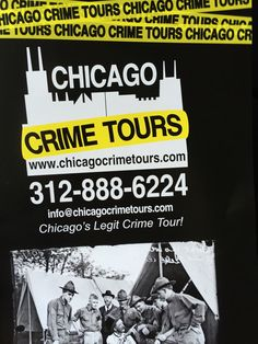 Chicago Crime Tours in Chicago, IL. 1.5 hr bus tour, ~$40
