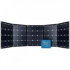 200W Faltbares Solarmodul-Set FSP 2 Ultra 12V MPPT 15A Victron Smart Bike Trailer, Vw Bus, Cube, California, Design, Solar Installation, Motor Homes, Lawn And Garden, House