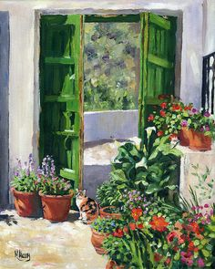 Margaret Merry, The Andalusian Patio