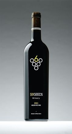 identity: Six Seeds Winery Logo: