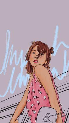 Red Velvet Umpah Umpah concept wallpaper lockscreen Wendy in 2020 Wendy Red Velvet, Red Velvet Irene, We Heart It Images, Velvet Wallpaper, Red Velvet Cookies, Kpop Girl Bands, Kpop Drawings, Kpop Fanart, Red Aesthetic