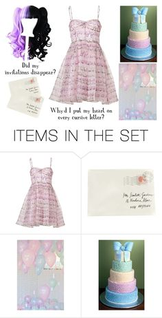 """""""Pity Party - Melanie Martinez"""" by shadow-cheshire ❤ liked on Polyvore featuring art"""