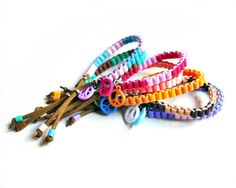 Sweet Delights Color Block Perler Beads Friendship by KnotSoFancy, $5.00