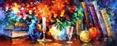 CANDLE OF INSPIRATION - Original Oil Painting On Canvas By Leonid Afremov http://afremov.com/CANDLE-OF-INSPIRATION-Original-Oil-Painting-On-Canvas-By-Leonid-Afremov-16-X40.html?utm_source=s-pinterest&utm_medium=/afremov_usa&utm_campaign=ADD-YOUR