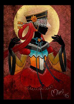 .crystal princess kakyuu by mimiclothing.deviantart.com on @DeviantArt