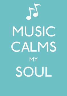 It does! When I'm nervous about something I just close my eyes and listen to music... It goes away