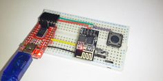 Connecting the module to a breadboard and FTDI programmer Microcontroller Board, Serial Port, Bread Board, Connection