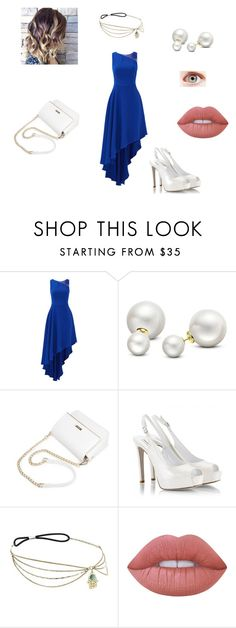 """""""Laura: Iceburg Lounge"""" by thelittlefanthatcould ❤ liked on Polyvore featuring Halston Heritage, Allurez, Fratelli Karida and Lime Crime"""