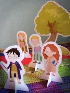 @K 2 - Harry Potter printable playset
