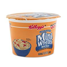 Kelloggs Breakfast Cereal Frosted Mini Wheats SingleServe 6 CupsBox -- Be sure to check out this awesome product.