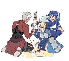 Picture memes by New_Shuten_Douji: 1 comment - iFunny :) Saber Fate, Manga Anime, Anime Art, Monster Hunter Memes, Fate Archer, Archer Emiya, Gilgamesh Fate, Arturia Pendragon, Miyamoto Musashi