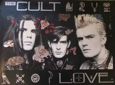 The Cult Promotional Poster https://www.facebook.com/FromTheWaybackMachine