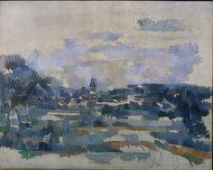 Turning Road, 1905. Paul Cezanne