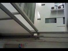 techo corredizo tres hojas en policarbonato. kymservice  4413260