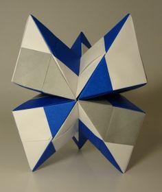 a modular origami web site