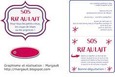 Margault: SOS Riz au lait, la bonne idée cadeau pour les gourmands ! (étiquettes à imprimer)