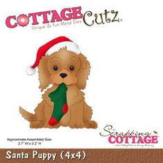 The Scrapping Cottage - Where CottageCutz are Always Blooming - CottageCutz Christmas