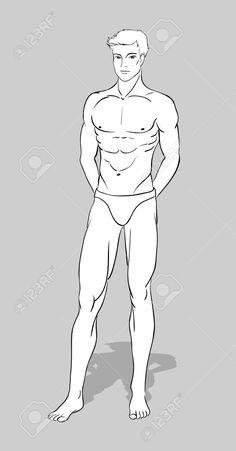Figurilla masculina de diseño de moda