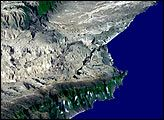 The Coast of Oman : Image of the Day : NASA Earth Observatory