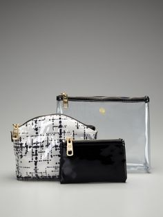 3 piece travel pouches from Trina