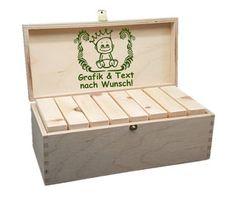 Holzbausteine Natur für Kinder - Zirbenspäne aus Österreich! Unfinished Wood, Promotional Giveaways, Company Logo, Products