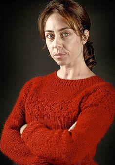 Sarah Lund in haar favoriete trui uit seizoen 2 van The Killing. #breien #trui