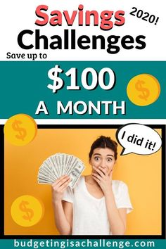 Want to save more? 12 Money Saving Challenges to help you save more. You can start these saving challenges from today. Easy ways to save more money. Even on a tight budget.  #savingschallenge #savingschallenges #savemore #moneysavingtips #saving