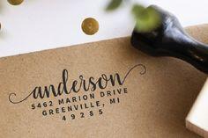 Address Stamp – Self Inking Return Address Stamp