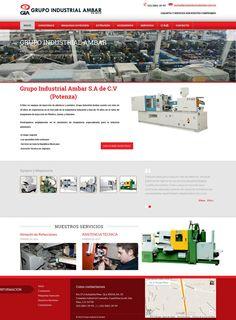 Grupo industrial ambar se dedican a dar servicio a maquinari industrial asi como asesoria