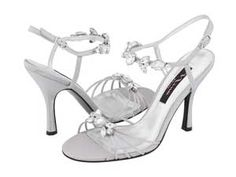 Nina Cara rhinestone wedding shoes