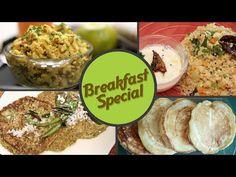 Breakfast Special - Quick And Easy To Make Breakfast Recipes by Ruchi Bharani & Anuradha Toshniwal -- Rajshri Food | Poha | Pancakes | Appam | Dalia Upma | Moong Dal Dosa | whole Moong Pancakes | Corn Upma