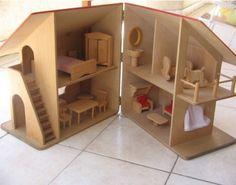 Como fazer brinquedos de madeira 2